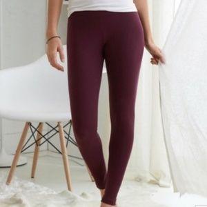 aerie marron leggings small long leggings size sma
